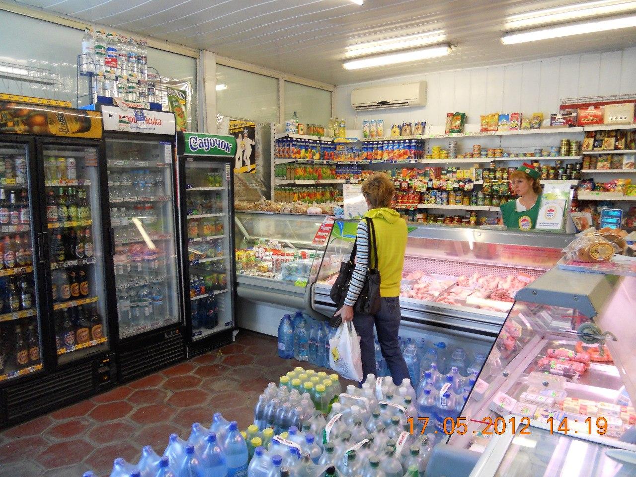 планировка магазина схема продукты